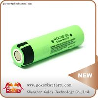 Panasonic NCR18650B 3400mah 3.7v 2C li-ion 18650 battery in battery storage