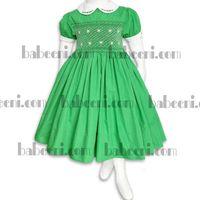 Luxury traditional smocked dress thumbnail image