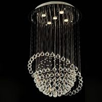 good quality and competitive price of modern crystal ceiling lamp/light 6005-5 thumbnail image