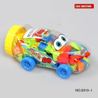 mini car building block toys educational toys