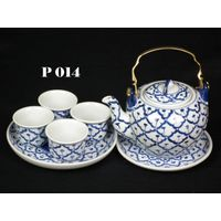 Thailand Ceramic Tea sets dinnerware tableware porcelain