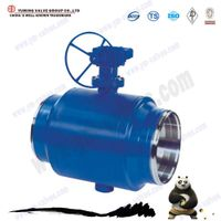 large size 3pc welding stainless steel ball valve