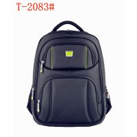 Wholesale good quality nylon 18 inch computer laptop backpack with USB and earphone function