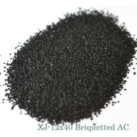 12x40 Briquetted activated carbon