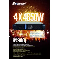 4 Channel PA Professional Amplifier Subwoofer Fp22000q 10000 Watt Power amplificador thumbnail image