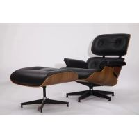 Mid century furniture design herman miller charles eames lounge chair and ottoman thumbnail image