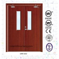 China Manufacture Fire Resistance WH Listed Steel Fire Rated Door
