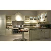 Buckingham Palace--Solid wood kitchen cabinets with willow wood doors
