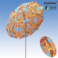 new printing promotional beach umbrella