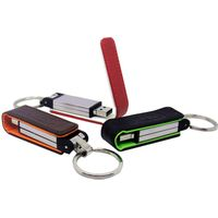 Bootable Leather USB Flash Drive with customized logo