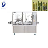 Automatic olive oil filling machine