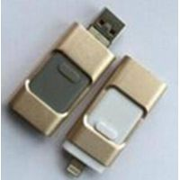 OTG USB Flash Drives for Ios iPhone and Android, 3-in-1 Multifunction Also with Micro USB, USB 2.0 U