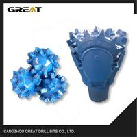 Steel teeth tricone drill Drill Bit for oil and gas drilling