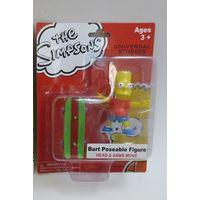 Licensed figure toy under NBCU ,simpson figure