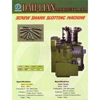 Screw slotting machine