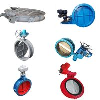Cement Manufacturing Equipment Motorized Flow Control Valve Butterfly Valve thumbnail image