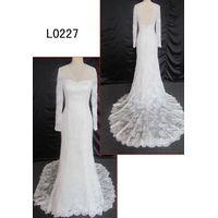 2014 muslim bridal wedding dress from China