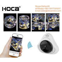 Indoor 360° 3D Panoramic VR P2P Wireless IP camera thumbnail image
