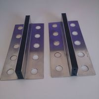 EPDM Rubber Insert Stainless Steel Control Joint