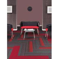 25x100 cm soundproof office High quality color striped carpet tiles thumbnail image