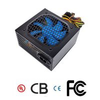 ATX Computer Power Supply with 275W Power and Auto-thermal Fan Control, Graphics Card Interface
