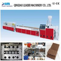 WPC profile machine for making decking/floor