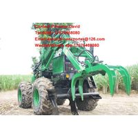 China sugarcane loader cane grab loader