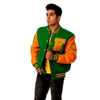 Letterman Varsity Multicolored Baseball Jackets