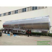 DRZ9400GYYL Aluminum Alloy Oil Tanker Semi-trailer - thumbnail image