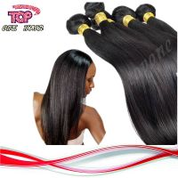 brazilian virgin hair straight human virgin remy hair extension