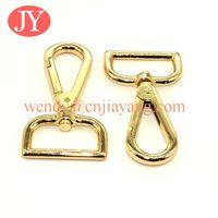 Gold color snap hooks swivel snap hook for handbags thumbnail image