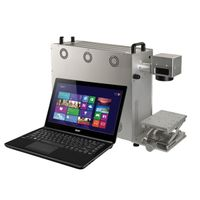 Portable Fiber Laser Marking Machine for Electronic & Communication Products, Sanitary Ware With CE thumbnail image