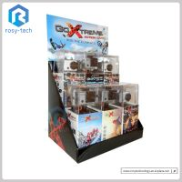 Two Tiers Paperboard Creative Display Stand Electronic Product Display For Camera thumbnail image