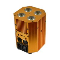 Mini 4X8W 4IN1 RGBW Battery Powered Wireless Uplight