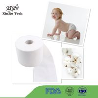 100% cotton nonwoven fabric for baby diaper