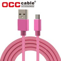 Ultra Strong Strong Metal Spring Micro Usb Cable Bulk thumbnail image