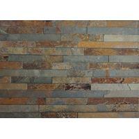 Rusty slate culture stone panel