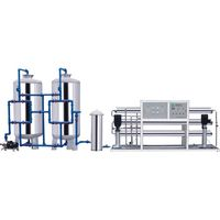 Drinking Water Treatment Equipment Reverse Osmosis RO-2000L/H