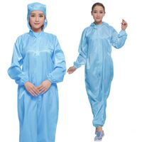 Good quality Anti-static clothes coverall ESD garments esd garments in China thumbnail image