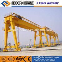 Factory price ! 20ton double girder gantry crane for sale