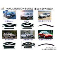 Honda volkswagen benz vehicle door visors thumbnail image