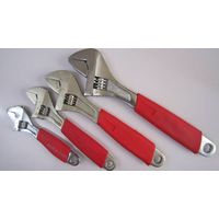 cast iron heavy duty handle adjustable wrench spanner