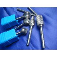 carbide dental bur and carbide file