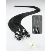 Fast delivery brazilian remy micro bead link loop cheap pre-bonded micro ring hair extension thumbnail image