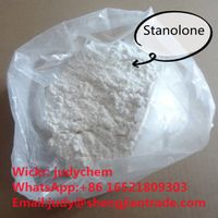 High purity Steroid Raw Stanolone powder CAS 521-18-6 manufacturer in stock Wickr:judychem