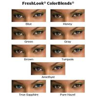 freshlook contact lens/colorblend contact lens