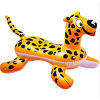 inflatable tiger rider, tiger rider, pool floats, inflatable animal rider