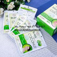 COCONUT FACE MASK FROM VIETNAM - BEST CHOICE FOR YOUR SKIN/ Ms Nancy +84 377 518 917