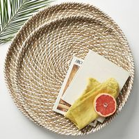 Seagrass woven trays thumbnail image