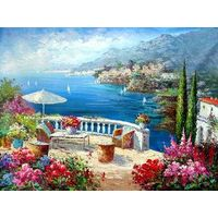 100%hand-painted traditional oil painting on canvas,oil painting reproduction